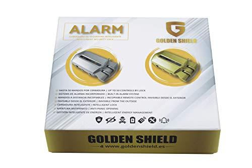 caja cerradura golden shield alarm