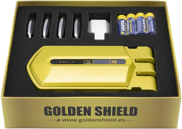 Cerradura invisible golden Shield alarm caja